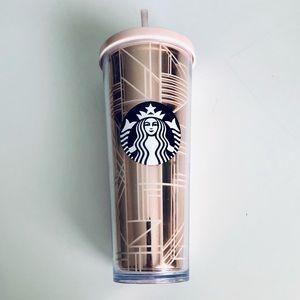Starbucks Double Wall Siren Tumbler | Rose Gold